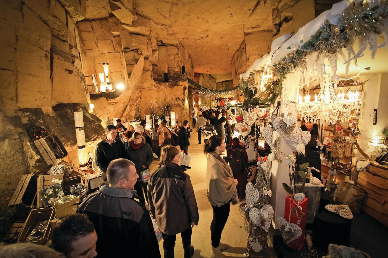 """<p><span><strong>November 18 - December 23.</strong> How about stepping inside what's thought to be the oldest and largest underground Christmas market in Europe? Set inside a cave, traditional stalls line winding passageways, while there's also a market beneath the ruined castle. The markets are included as part of The River Cruise Line's four-day </span><a rel=""""nofollow"""" href=""""http://www.rivercruiseline.co.uk/cruise/christmas-markets-extravaganza-2016""""><span>Christmas Markets Extravaganza</span></a><span> cruise, which costs from £349pp. [Photo: The River Cruise Line]</span> </p>"""
