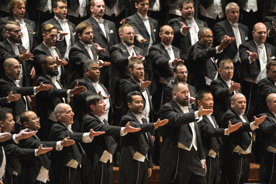 The San Francisco Gay Men's Chorus felt compelled to remove a video after some of the singers received death threats.