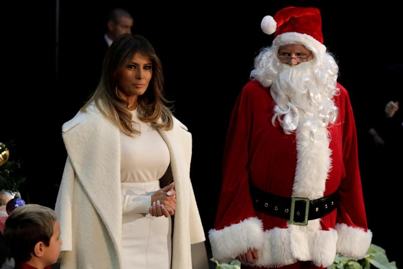trump says christmas should be about jesus and most americans agree survey - Santa Claus And Jesus 2