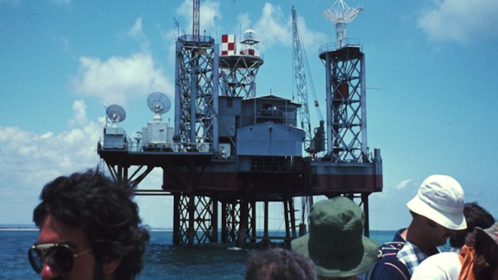 One of the San Marco Equatorial Range in 1974