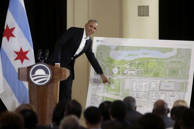 Obama unveils design for $500 million presidential library