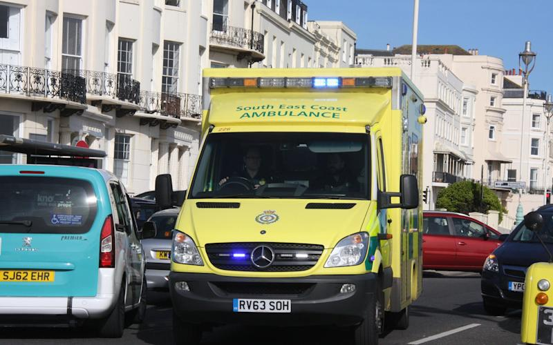 South East Coast Ambulance Service trust has become embroiled in a string of scandals - Credit: TERRY BLACKMAN / Alamy Stock Photo