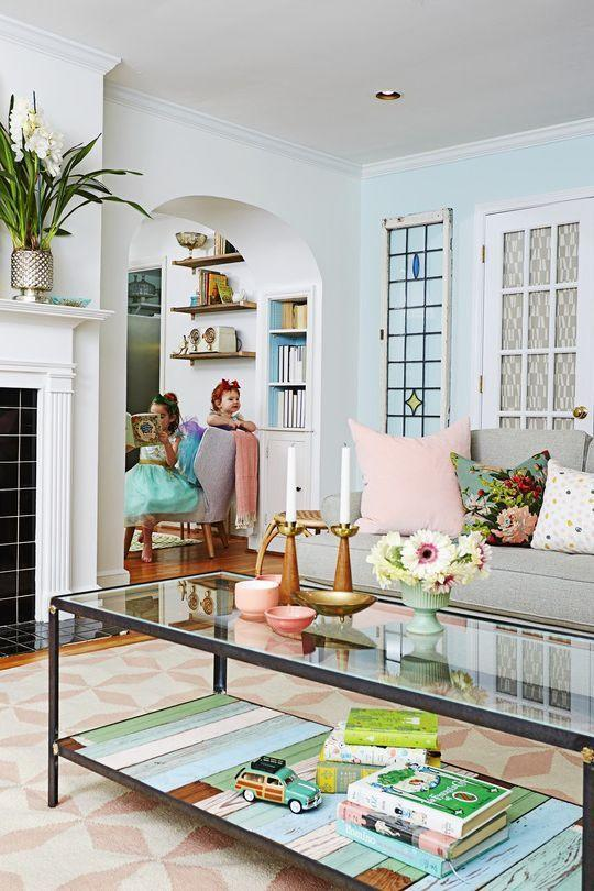 """<p>Pastel shades are among the most common and classic colors to brighten your home for the warmer months. """"We love using soft, muted pastel colors in spring,"""" says Hammel. """"Not only do they mimic the outdoors, but they are the perfect way to gradually incorporate color back into your home after the cold, darker winter months.""""</p>"""