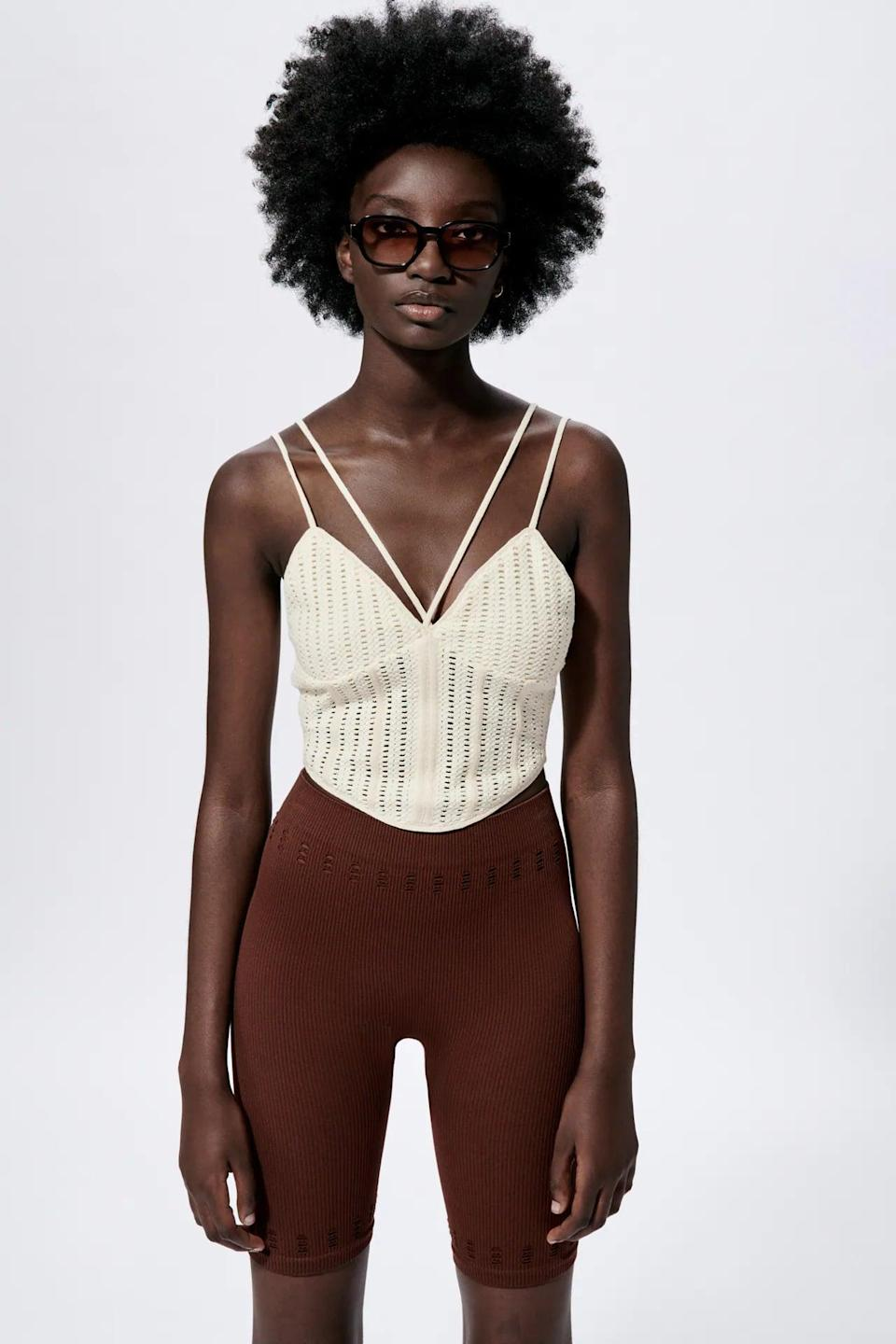 <p>Whether you wear this <span>Mesh Corset Top</span> ($30) to impress a first date or for a night out with your closest friends, you'll be among the best dressed in the room.</p>