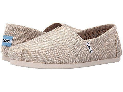 "Get it on <a href=""https://www.zappos.com/p/toms-seasonal-classics-natural-metallic-burlap/product/8639483/color/606264?zlfid=191&ref=pd_sims_sp_1"" target=""_blank"">Zappos</a>, $55."