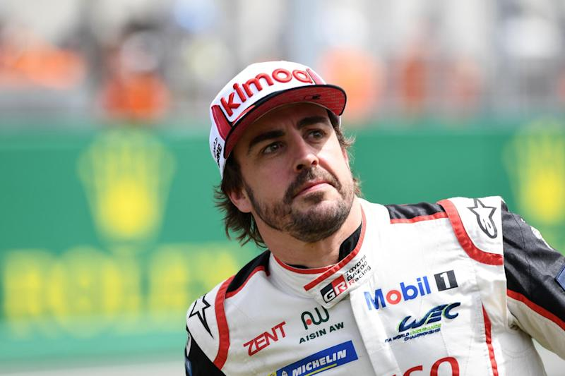 Alonso now has four titles in his senior career - two in Le Mans and two in F1. (AFP/Getty Images)