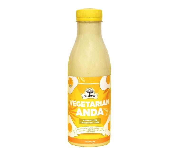 With the Vegetarian Anda, you can get quality vegetarian protein in your diet, without any cholesterol and 1/5 times the fats compared to a conventional Egg