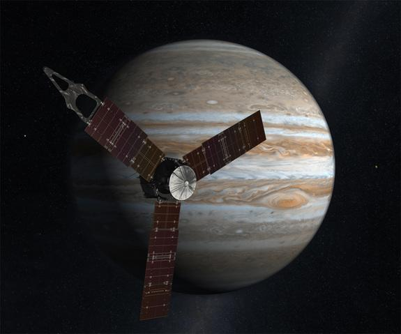 Jupiter-Bound NASA Probe to Grab Speed Boost from Earth Flyby Wednesday