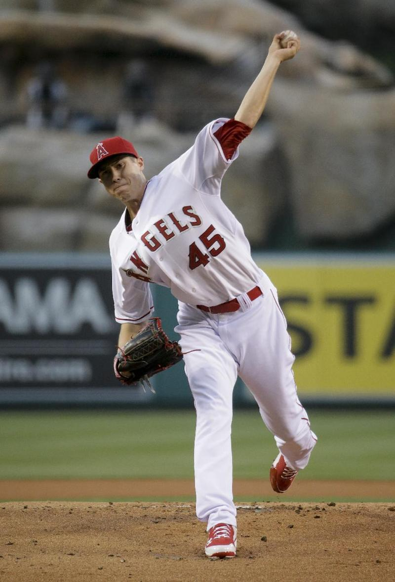 Angels beat Indians 6-3 with 3-run 8th
