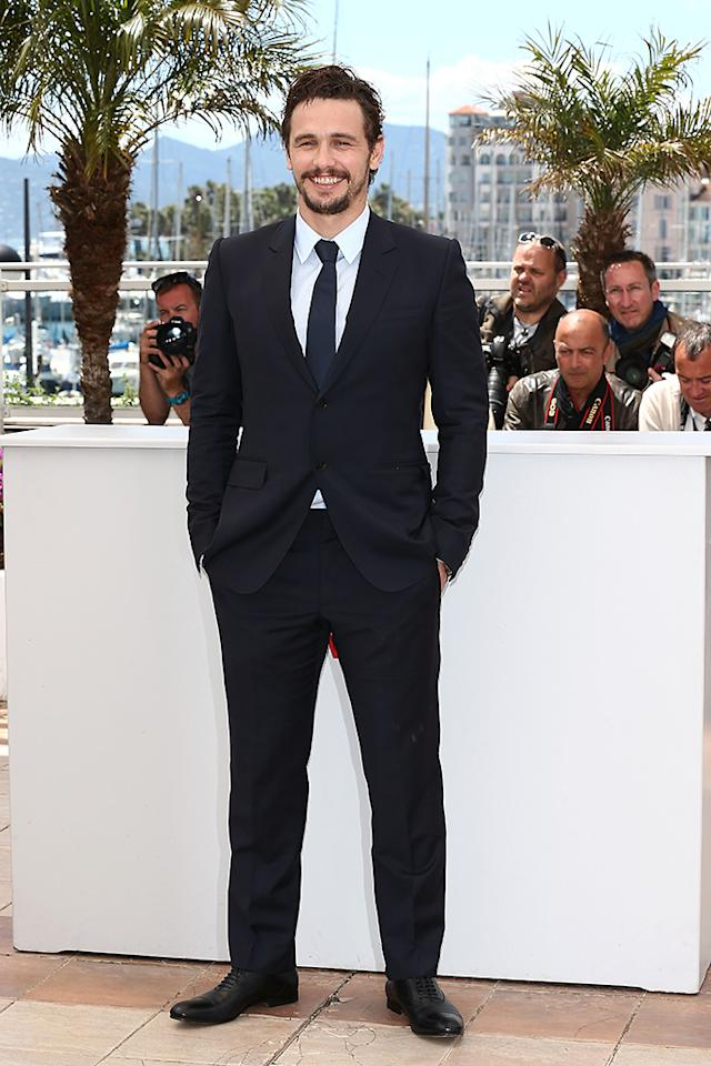 CANNES, FRANCE - MAY 20: Director and actor James Franco attends the photocall for 'As I Lay Dying' at The 66th Annual Cannes Film Festival on May 20, 2013 in Cannes, France. (Photo by Andreas Rentz/Getty Images)