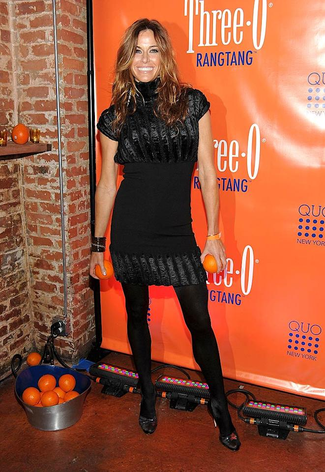 """Real Housewives of New York City"" star Kelly Bensimon was also in attendance wearing head-to-toe black. Hopefully the drama queen didn't stir up any trouble at the party. Jamie McCarthy/<a href=""http://www.wireimage.com"" target=""new"">WireImage.com</a> - February 23, 2010"