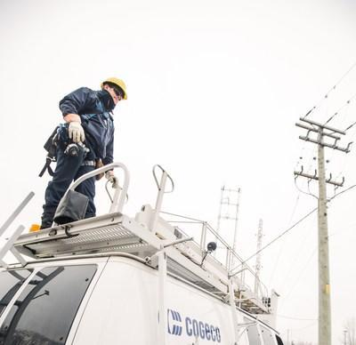 Cogeco Connexion continues investing to meet the growing needs for high-speed Internet connectivity in Ontario (CNW Group/Cogeco Connexion)