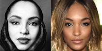 <p>If you told us model Jourdan Dunn was the '80s singer Sade's clone, we'd believe you. Their almond-shaped eyes are almost identical.</p>