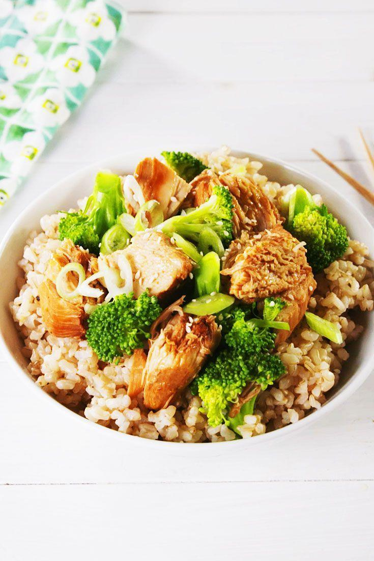"""<p>The sauce, made simply with soy sauce, sesame oil, and ginger, is one you will turn to again and again.</p><p>Get the recipe from <a href=""""https://www.delish.com/cooking/recipe-ideas/a25622120/slow-cooker-chicken-broccoli-recipe/"""" rel=""""nofollow noopener"""" target=""""_blank"""" data-ylk=""""slk:Delish"""" class=""""link rapid-noclick-resp"""">Delish</a>.</p>"""