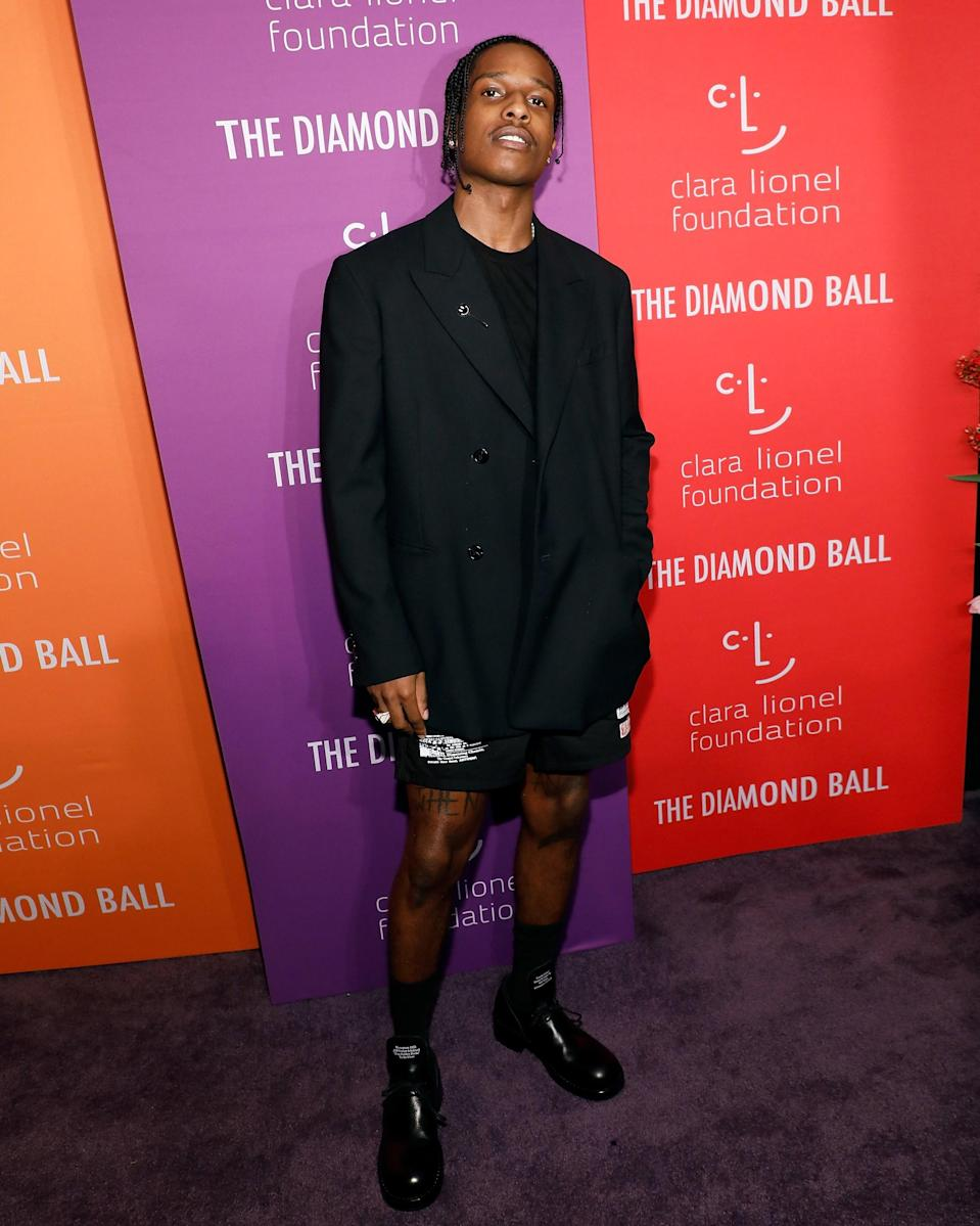 """<h1 class=""""title"""">September 13: A$AP Rocky</h1> <div class=""""caption""""> Rocky sends shorts season out with a bang. </div> <cite class=""""credit"""">Getty Images</cite>"""