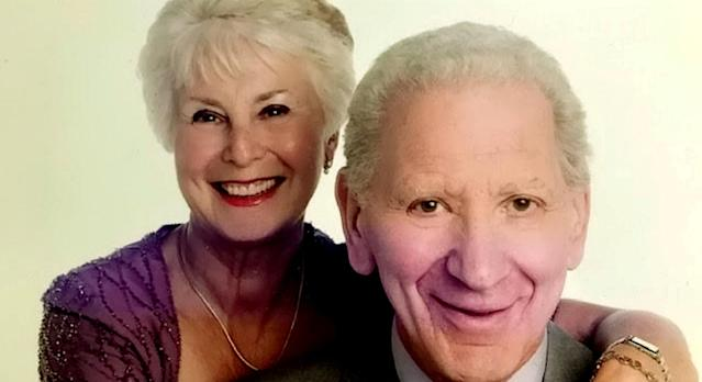 Great-grandmother dies after sharing one last kiss with husband in corridor on same day they tested positive for coronavirus (SWNS)