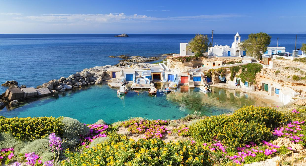 Greece's islands hope to have vaccinated all residents by mid-June. (Getty Images)