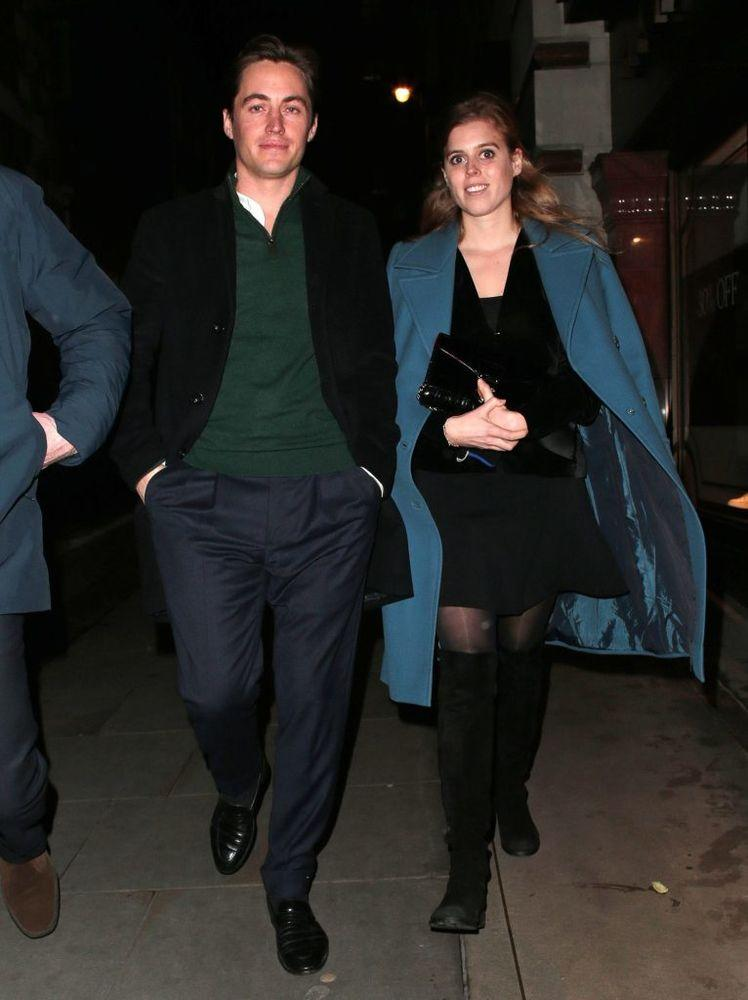 Princess Beatrice and Edoardo Mapelli Mozzi | Hewitt/Mclees/Splash
