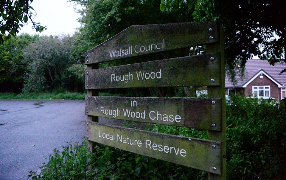 Rough Wood Chase is a popular destination for dog walkers and families (swns)