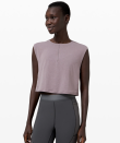 """<p><strong>Lululemon</strong></p><p>lululemon.com</p><p><a href=""""https://go.redirectingat.com?id=74968X1596630&url=https%3A%2F%2Fshop.lululemon.com%2Fp%2Fwomen-tanks%2FEsker-Cropped-Tank-MD%2F_%2Fprod9491557&sref=https%3A%2F%2Fwww.seventeen.com%2Ffashion%2Fg30519407%2Fdoes-lululemon-have-sales%2F"""" rel=""""nofollow noopener"""" target=""""_blank"""" data-ylk=""""slk:Shop Now"""" class=""""link rapid-noclick-resp"""">Shop Now</a></p><p><strong><del>$108</del> $49 (55% off)</strong></p><p>Meet your new go-everywhere crop top. She's a spacious little beauty that comes in orange, lavender, cloud gray, and the always-functional navy.</p>"""