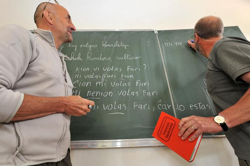 Up to a million people are said to use Esperanto (AFP Photo/Frank Perry)