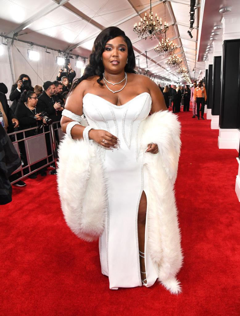 Lizzo. Photo :Kevin Mazur/Getty Images