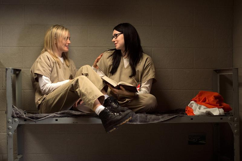 Jim Armitage: A cool 73% of Americans surveyed now subscribe to Netflix, which is behind shows such as Orange is the New Black: JoJo Whilden/Netflix via AP