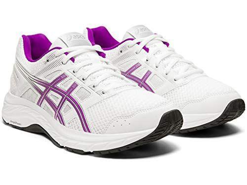 """<p><strong>ASICS</strong></p><p>amazon.com</p><p><a href=""""https://www.amazon.com/dp/B07Q1K1YNT?tag=syn-yahoo-20&ascsubtag=%5Bartid%7C2140.g.23517576%5Bsrc%7Cyahoo-us"""" rel=""""nofollow noopener"""" target=""""_blank"""" data-ylk=""""slk:Shop Now"""" class=""""link rapid-noclick-resp"""">Shop Now</a></p><p>Thanks to features like its rearfoot GEL cushioning system and an internal heel gradient, these sneakers do a stellar job at reducing shock absorption and supporting your every step.</p><p><strong>Reviewer Rave: </strong>""""GREAT shoes! I am on my feet all day for work! Very comfortable and fit perfect.""""<br></p>"""