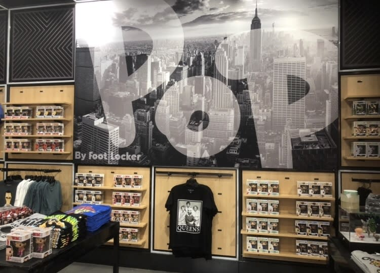 d031cc6a1a00e Foot Locker s new store in partnership with Funko.