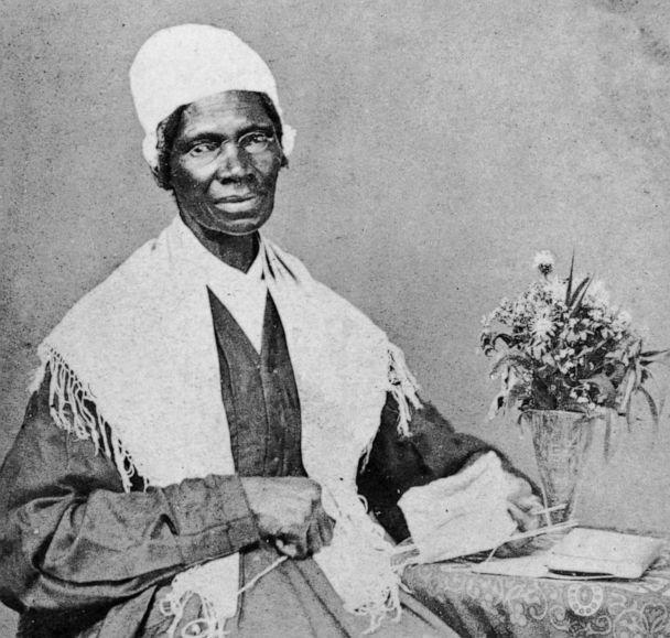 PHOTO: Portrait of American abolitionist and feminist Sojourner Truth (1797 - 1883), a former slave who advocated emancipation, c. 1880. (Hulton Archive/Getty Images)