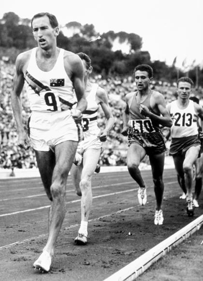 """It is the inspiration of the Olympic Games that drives people not only to compete but to improve, and to bring lasting spiritual and moral benefits to the athlete and inspiration to those lucky enough to witness the athletic dedication"" - Herb Elliott (Australian middle-distance Runner, world record holder in the 1,500 meter race (1958-67) and the mile race (1958-62)"