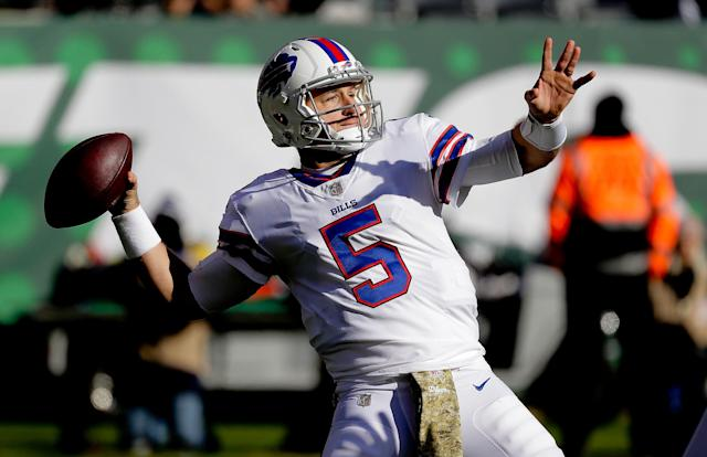 The Buffalo Bills are quarterback Matt Barkley's sixth NFL team. (AP Photo)