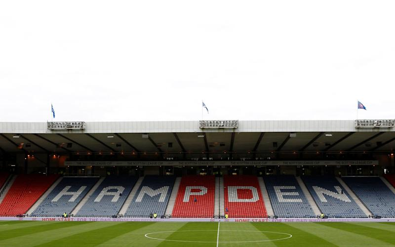 Arguments within the Scottish Football Association board about whether to potentially move the national team to Muraryfield became 'heated' - REUTERS
