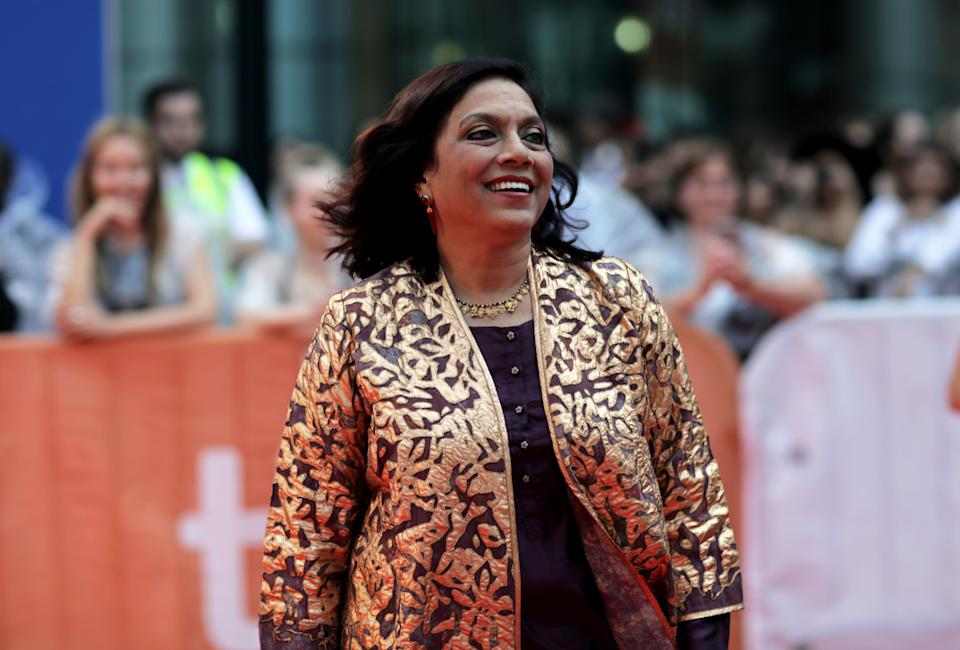 "Mira Nair attends the ""Queen of Katwe"" premiere on day 3 of the Toronto International Film Festival at Roy Thomson Hall on Saturday, Sept. 10, 2016, in Toronto. (Photo by Jesse Herzog/Invision/AP)"