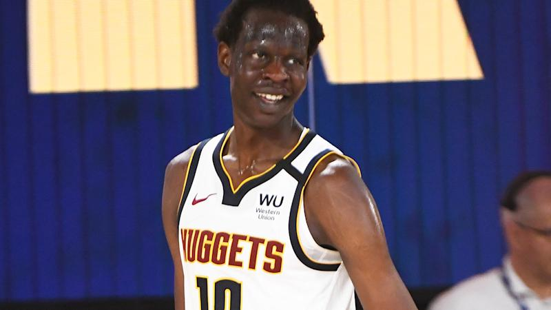 Denver Nuggets rookie Bol Bol is pictured.