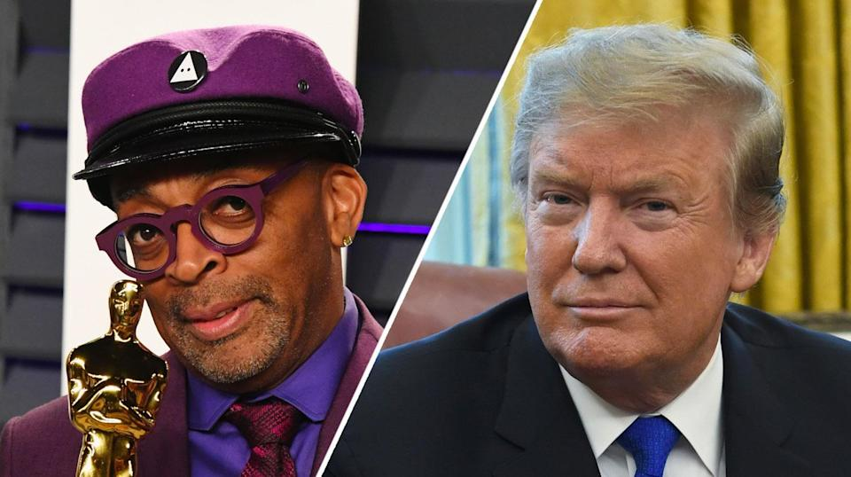Spike Lee provoked Donald Trump's ire with 2020 comments (Getty)