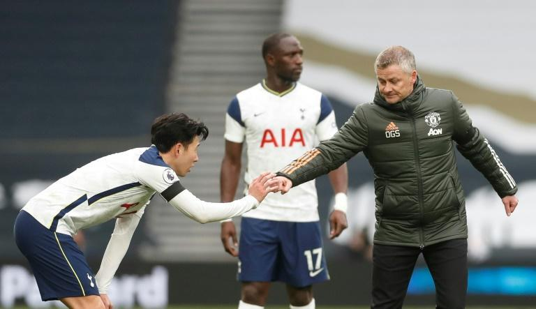 Manchester United manager Ole Gunnar Solskjaer claimed Son Heung-min 'conned' the referee to get United's opening goal disallowed