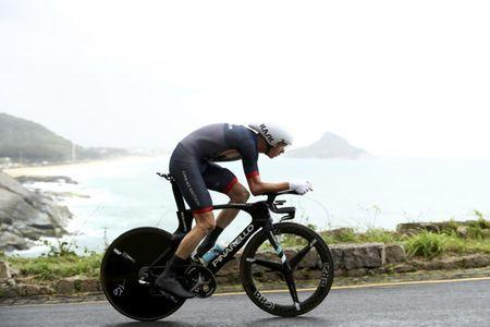 FILE PHOTO: Chris Froome (GBR) of United Kingdom competes. REUTERS/Bryn Lennon/Pool Picture Supplied by Action Images