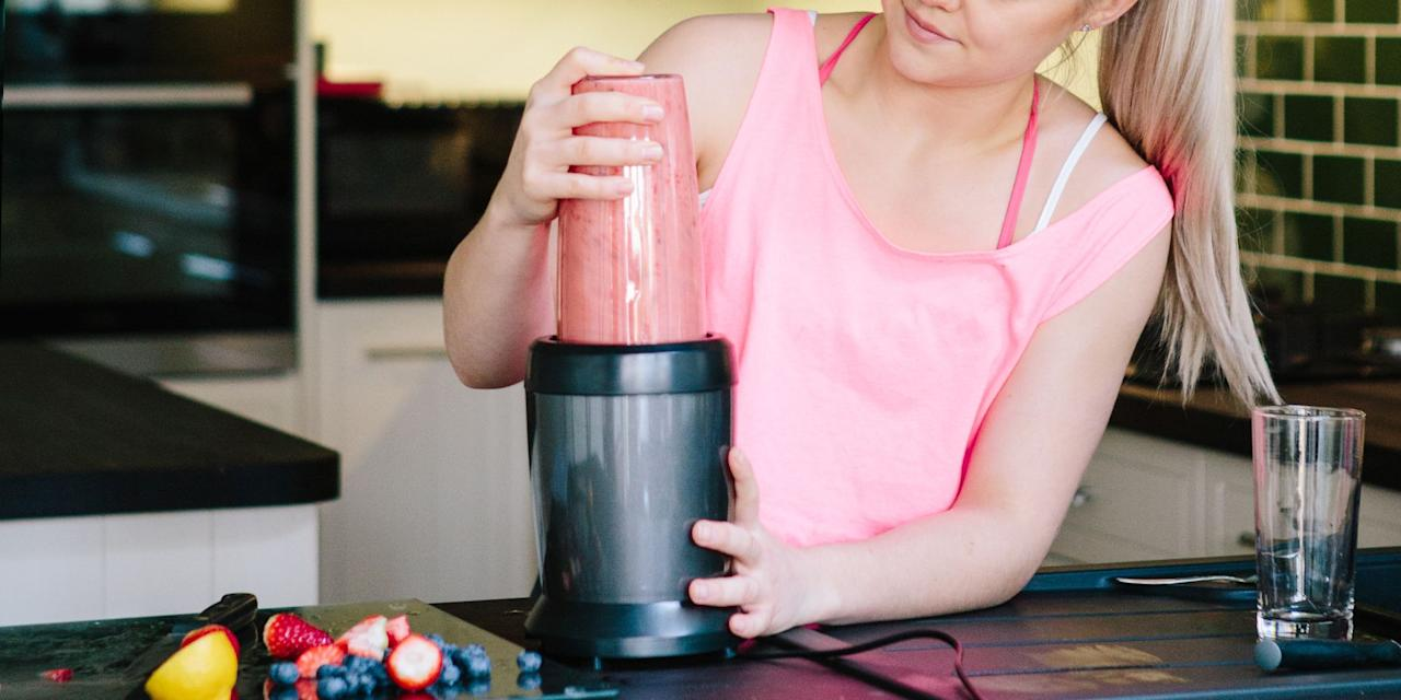 """<p>If you've checked your Instagram feed in the past, oh, year or so ... you've <em>probably</em> seen a fitness influencer or 12 whipping up smoothies to-go on a sleek NutriBullet or other personal blender. Well, we've got news for you: Personal blenders are <em>not</em> just for obnoxious influencers! They're for everyday busy folks who are also trying to eat healthier. And if you want to eat healthier by <a href=""""https://www.goodhousekeeping.com/health/diet-nutrition/g28511617/healthiest-fruits/"""" target=""""_blank"""">upping your fruit and veggie intake</a>, more power to you. A personal blender is the kitchen tool you'll absolutely need to make those #fitnessgoals happen IRL. </p><p>Ideal for making <a href=""""https://www.menshealth.com/nutrition/a19545933/healthy-protein-smoothie-recipes/"""" target=""""_blank"""">custom protein shakes</a> to-go, <a href=""""https://www.delish.com/cooking/g1457/healthy-smoothie-recipes/"""" target=""""_blank"""">refreshing smoothies</a> for a post-workout treat, and even for whipping up <a href=""""https://www.townandcountrymag.com/leisure/drinks/g27194880/best-frozen-cocktails/"""" target=""""_blank"""">homemade frozen cocktails</a>, a personal blender is one kitchen gadget we guarantee you'll use (and love). Here are our recommendations for the best personal blenders out there. </p>"""