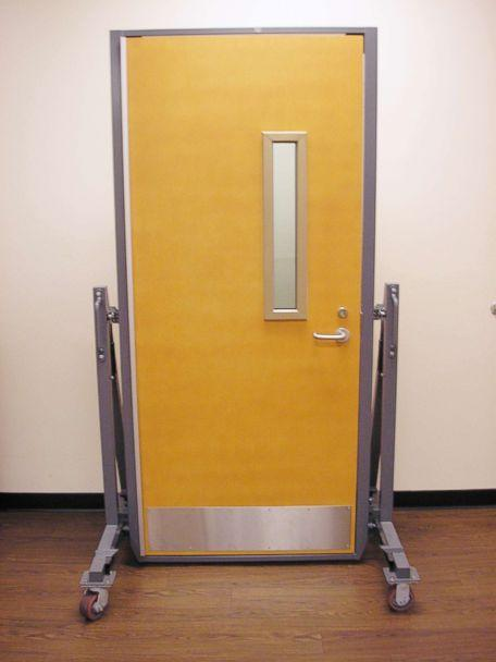 PHOTO: A bulletproof door is pictured in this undated photo. (2P Innovations)