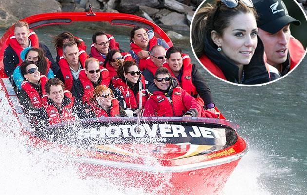 Queenstown got the royal tick of approval in 2014 when Wills and Kate visited. Photo: Getty