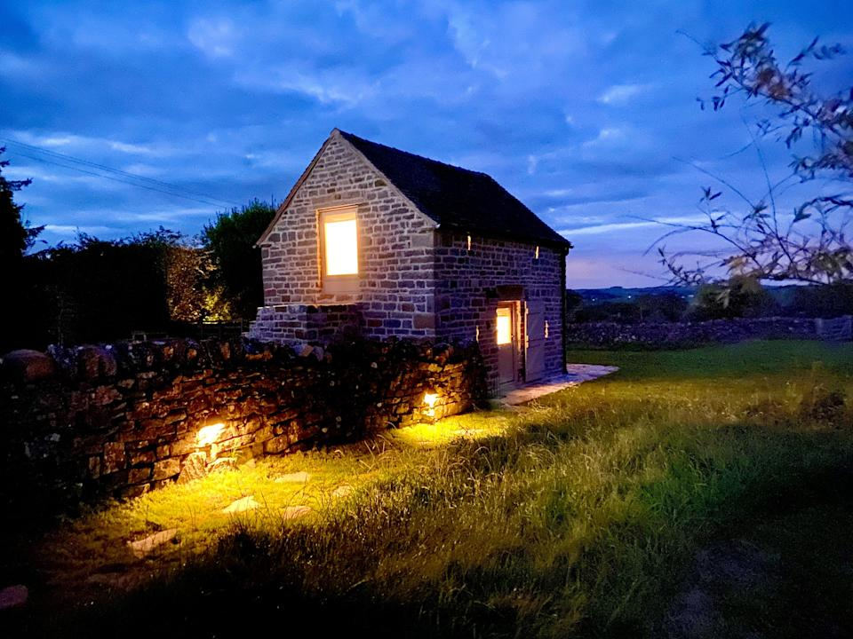 """<strong><a href=""""http://airbnb.pvxt.net/RyyrZa"""" rel=""""nofollow noopener"""" target=""""_blank"""" data-ylk=""""slk:Romantic Field Barn, Grindon"""" class=""""link rapid-noclick-resp"""">Romantic Field Barn, Grindon </a></strong><br><br>Romantic is no exaggeration: compact and fully modernised, this 16th century barn is the perfect base from which to explore the Peak District. <br><br><em>From £100 per night</em>"""