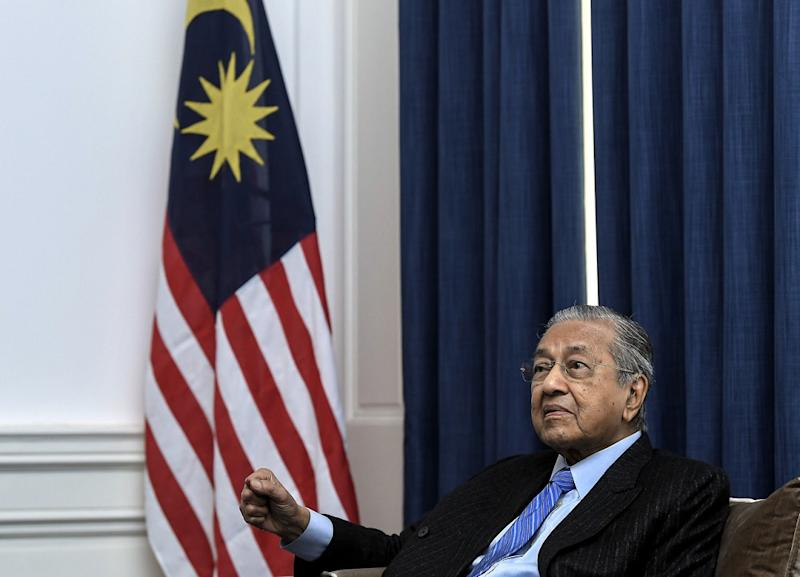Prime Minister Tun Dr Mahathir Mohamad said Asean's proposed joint bid to host the Fifa World Cup in 2034 will boost the region's chances of getting it. — Bernama pic