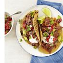 """<p>Take any fiesta to the next level with these flavorful beef tacos topped with fresh, spicy pico de gallo</p><p>.<a href=""""https://www.womansday.com/food-recipes/food-drinks/recipes/a12886/chipotle-beef-tacos-pico-de-gallo-recipe-wdy1014/"""" rel=""""nofollow noopener"""" target=""""_blank"""" data-ylk=""""slk:Get the Chipotle Beef Tacos With Pico de Gallo recipe."""" class=""""link rapid-noclick-resp""""><em>Get the Chipotle Beef Tacos With Pico de Gallo recipe.</em></a></p>"""