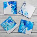 "<p>Marbled coasters look amazing and only take a few minutes to create. In fact, the faster you make them the more effective they can often look. They're also a great option to make with children. Find out how <strong><a href=""https://www.muminthemadhouse.com/nail-varnish-marbled-coasters/?utm_content=buffer7344c&utm_medium=social&utm_source=pinterest.com&utm_campaign=buffer"" rel=""nofollow noopener"" target=""_blank"" data-ylk=""slk:here"" class=""link rapid-noclick-resp"">here</a></strong>. <br><em>[photo: muminthemadhouse]</em> </p>"