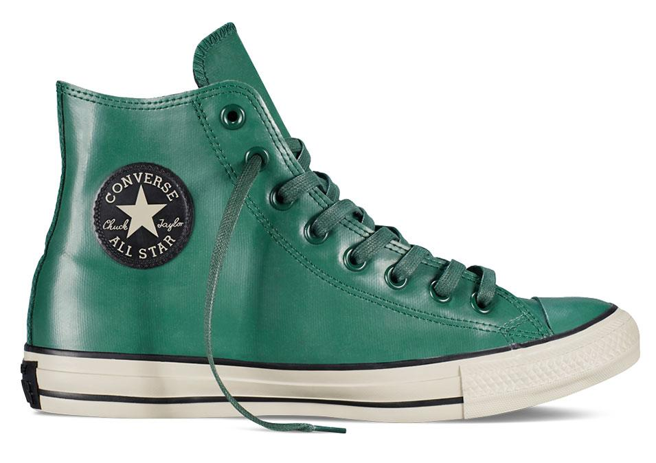 """<p>Converse Chuck Taylor All Star Rubber in Gloom Green, $65, <a rel=""""nofollow"""" href=""""http://www.converse.com/regular/chuck-taylor-all-star-rubber/149461C_030.html"""">converse.com</a></p>"""