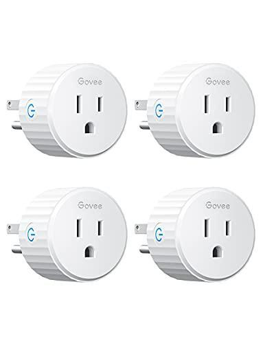 Govee Mini Smart Plugs with Alexa and Google Assistant (4 Pack)
