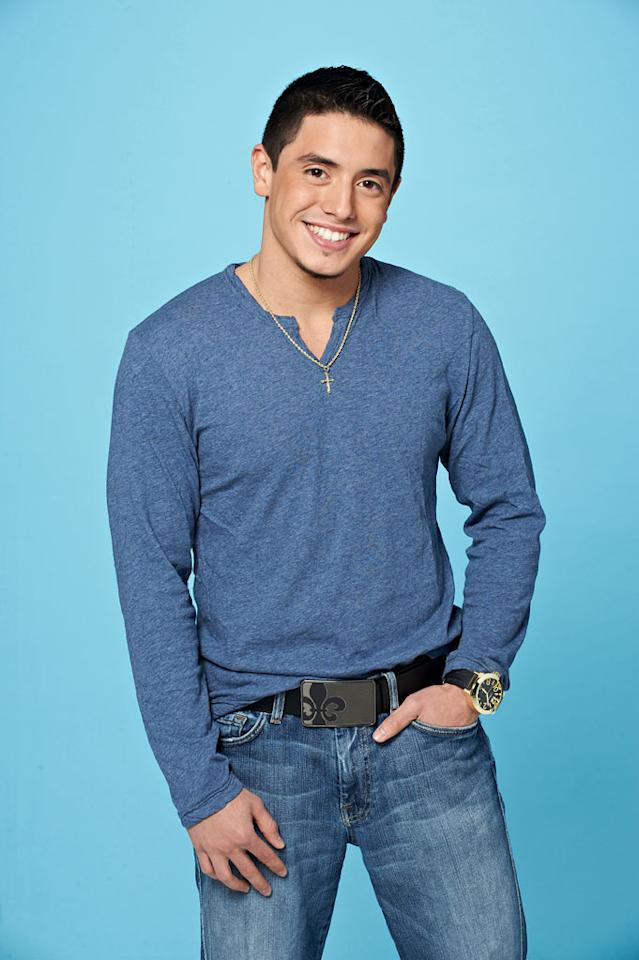 "Stefano Langone, 21, from Kent, WA competes on the tenth season of ""American Idol."""