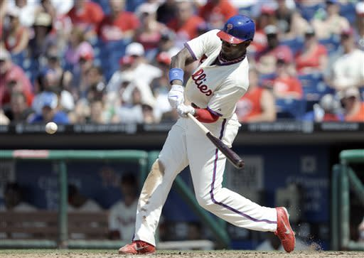 Brown homers and triples, Phillies beat Braves