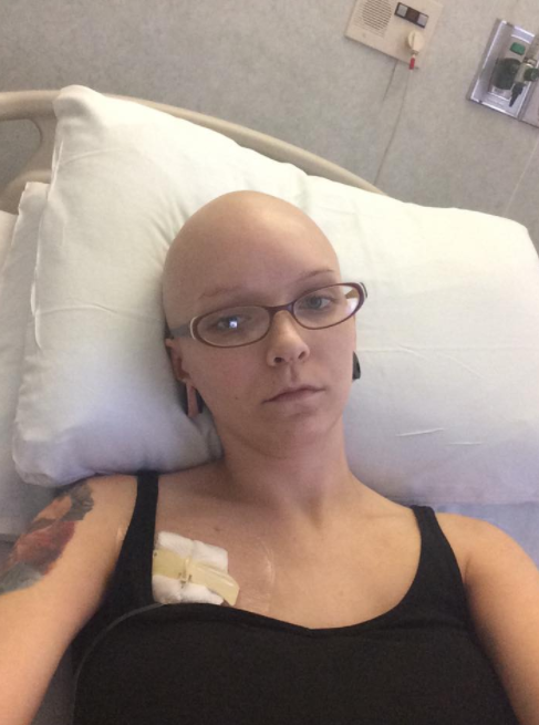 The hairdresser was diagnosed with breast cancer at just 26. Photo: Facebook